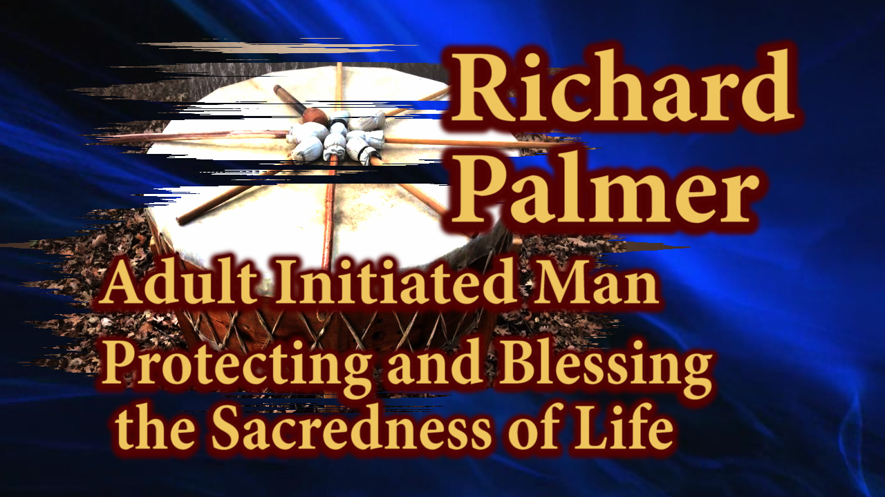 Richard Palmer speaking about the Protecting and Blessing the Sacrednes of Life.
