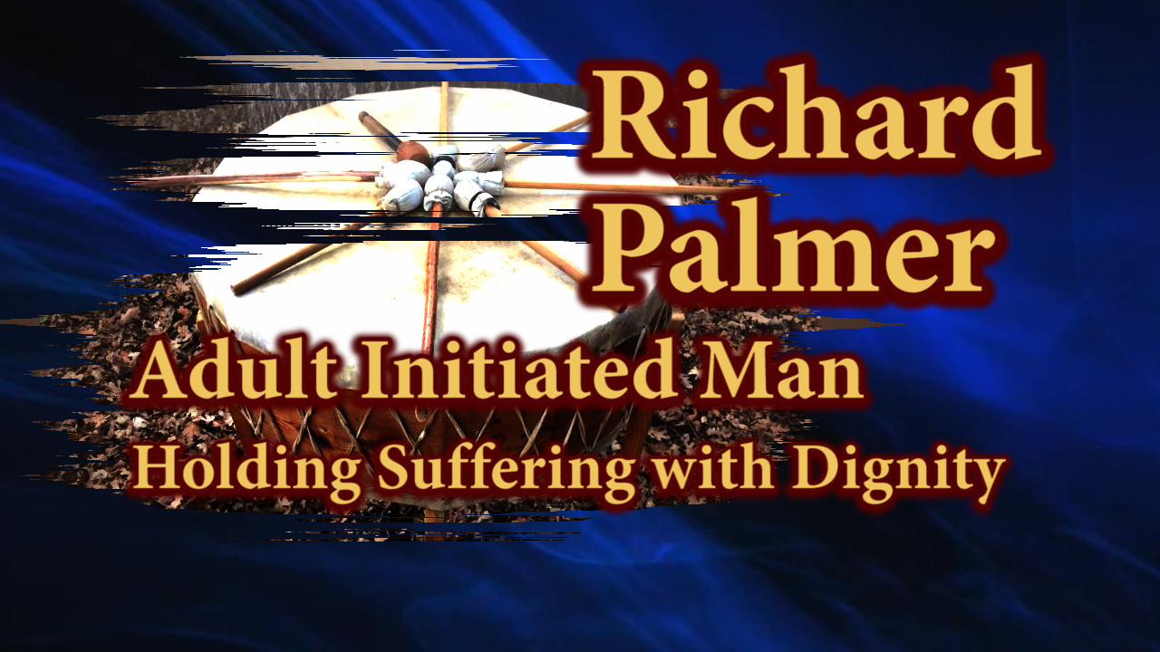 Richard Palmer speaking about Holding Suffering with Dignity.